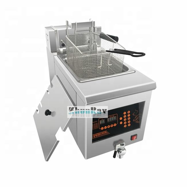 COMMERCIAL ELECTRIC DEEP FRYER AUTOMATIC LIFTING DIGITAL CONTROL