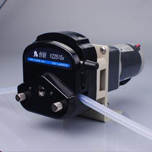 Micro small DC12V pump DC24V pump compact DC peristaltic dosing pump