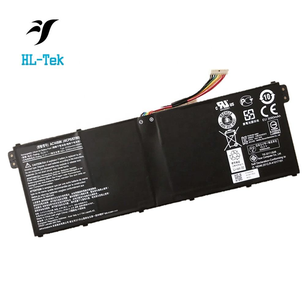 Original Laptop Battery AC14B8K for Acer Chromebook 13 E3-111 for TravelMate B115-M Aspire V3 V3-371 V3-371-30FA V3-371-52PY