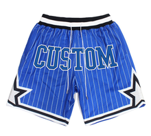 custom made hip hop Orlando sublimation magic polyester fit dry just mens don embroidery mesh basketball shorts with logo