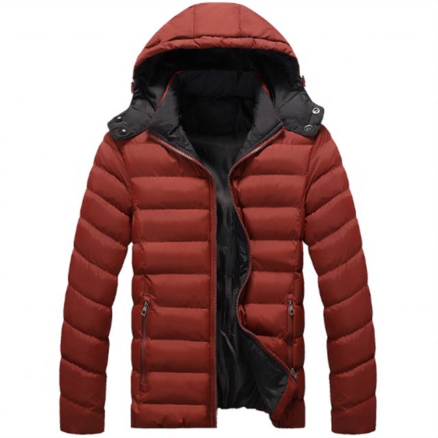 AKIMBO IMPEX 2020 High Quality Classic Winter Men's Custom Puffer Bomber Jacket Puffer Jacket