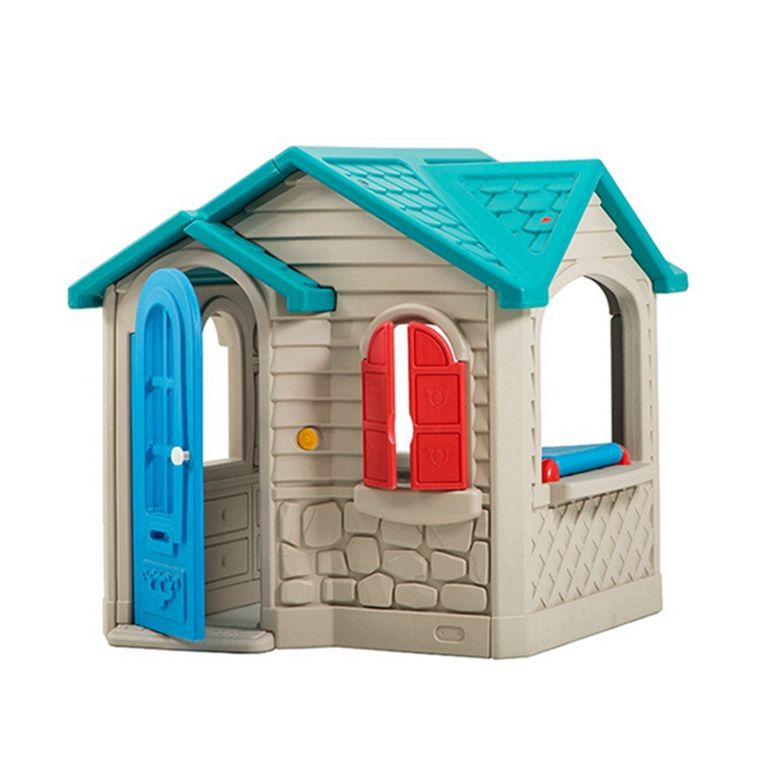 Kids play games toys,cubby house, mini plastic kids playhouse