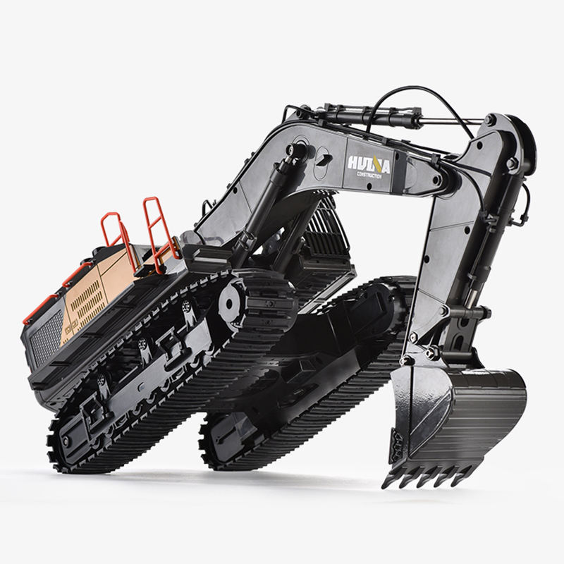 1:14 Rc Excavator Models Toys For Kids 22 Channels Construction Model Digging Toys Remote Control Excavator Toy
