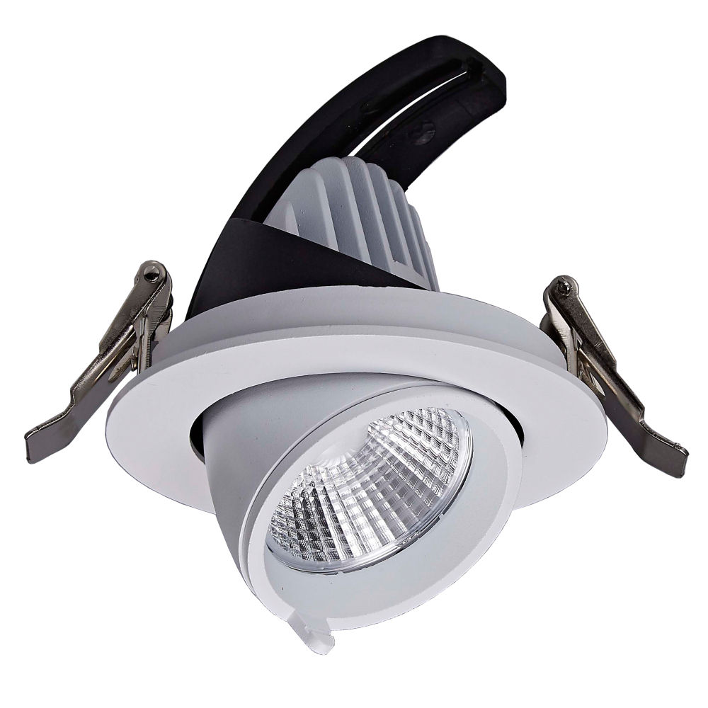 Verzonken Gimbal Downlight Power <span class=keywords><strong>Dimbare</strong></span> 10W Cob Originele Product Led Down Licht