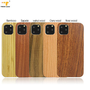 Original Bamboo CellPhone Case Eco-Friendly Custom Wooden Boxes Cover For iPhone 12 Pro Max