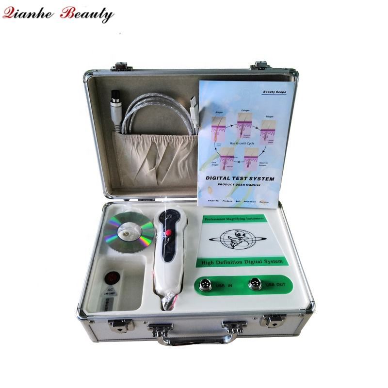 Factory hot sale portable analysis tool skin and hair test machine