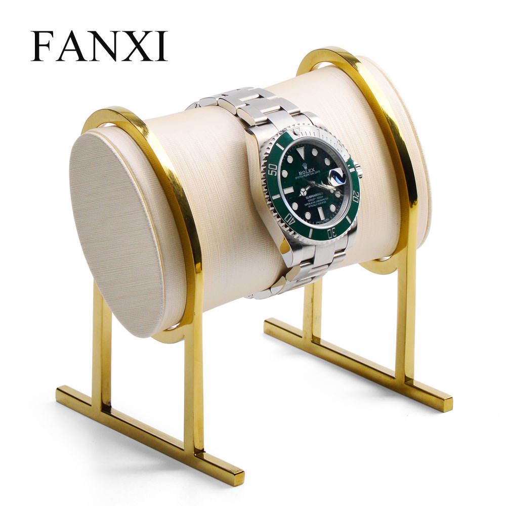 FANXI Wholesale new jewelry metal display set for watch bracelet bangle unique design jewelry mannequin jewelry display stand