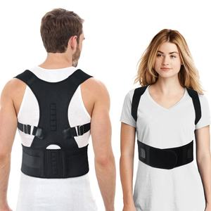 APTOCO 2019 Wholesale Private Label High Quality Neoprene Adjustable Magnetic Therapy Back Support Belt Posture Corrector