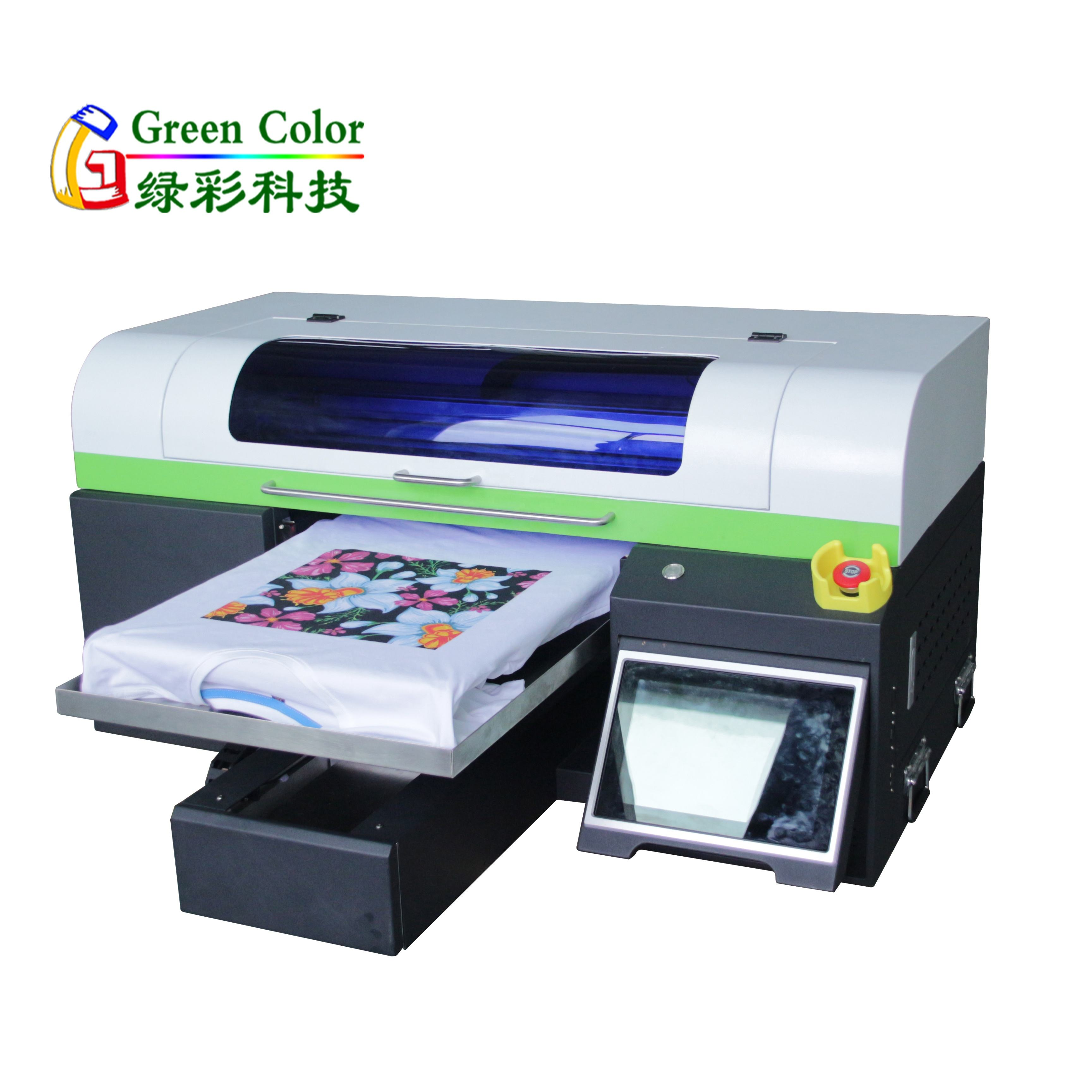 Direct to garment printer dtg automatic A2 size t-shirt printing machine fabric printing machine with double printhead-4720