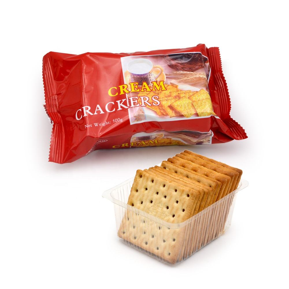 hot sale biscuits from professional biscuit manufacturers cream cracker