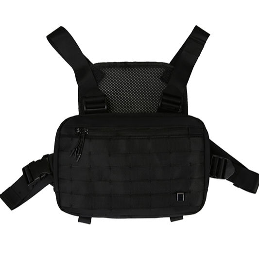 Customize Logo high quality Shoulder Vest Chest Rig Unisex Vest Bag