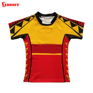 2020 AIBORT Sublimated Print Rugby Shirts Wholesale Sport Clothing Custom Men Football Jersey Rugby Jerseys red rugby jersey