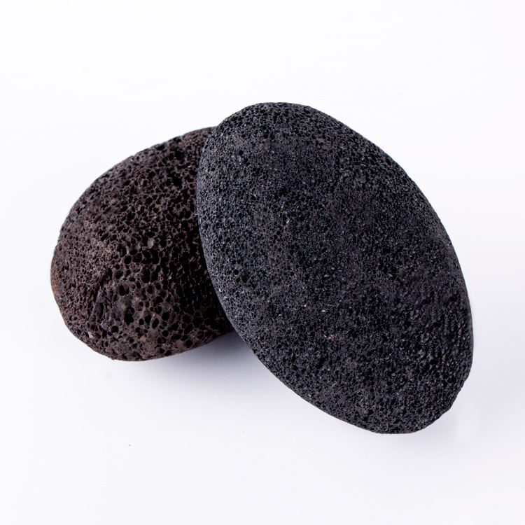 Black Massage Grinding Volcanic Natural Foot File Pumice Stone Foot Pumice Stone