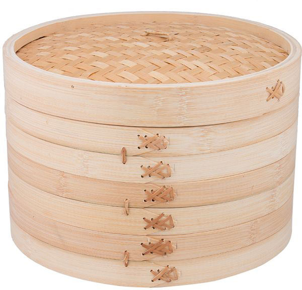 Wholesale chinese rice cooker mimi dim sum bamboo steamer basket