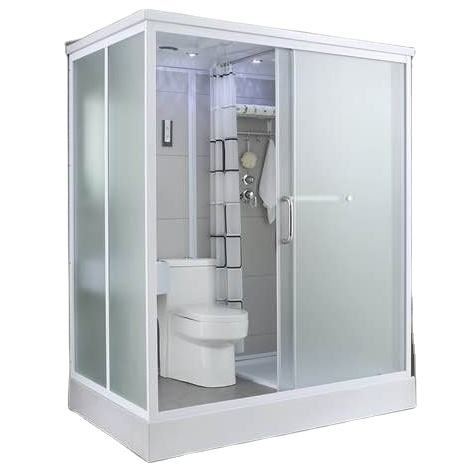 120x190 big bathroom unit shower and toilet all in one prefab bathroom shower cabin prefab bathroom pod