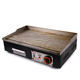Restaurant kitchen equipment countertop BBQ griddle stainless steel electric teppanyaki griddle