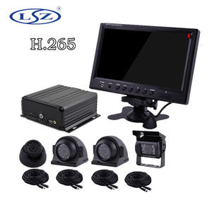 SD card MDVR, Mobile DVR for vehicle 4CH Realtime CCTV H.264 4CH720P Mobile Car Vehicle DVR