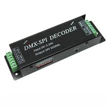 Addressable LED strip use DMX SPI Decoder