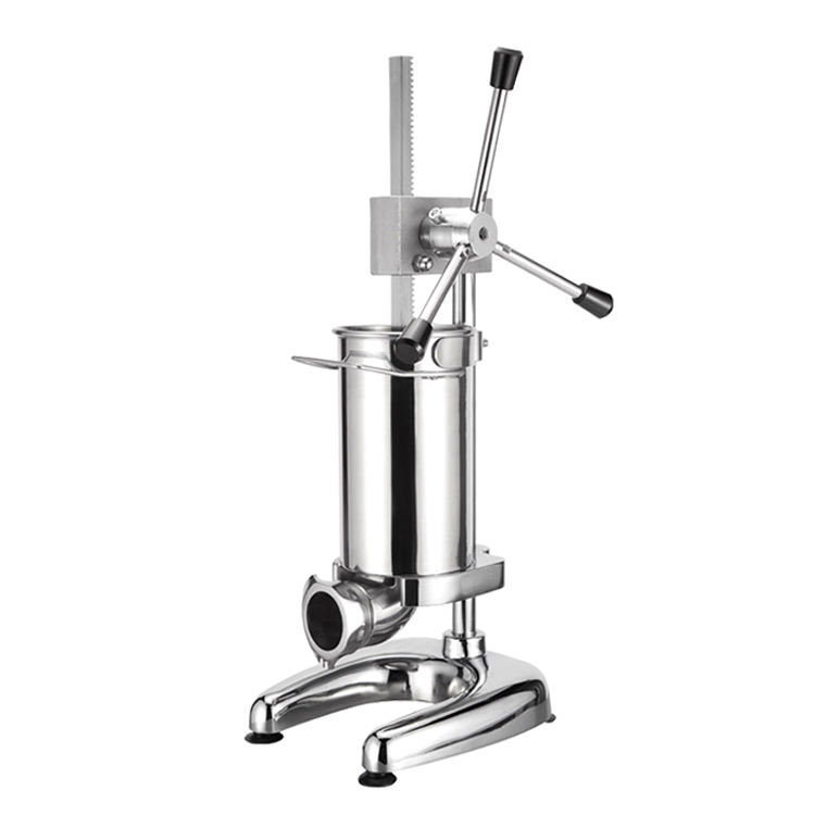 2L Vertical Industrial manual Sausage Filling Machine Stuffer Machine funnel sausage making machine