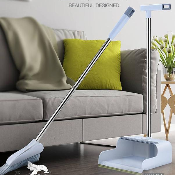 Easy-Harvest Household Cleaning Broom and Dustpan Set