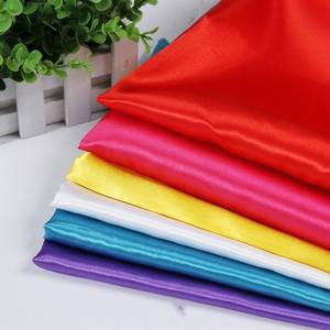 Discount Price Soft Waterproof Textile Silk 100 Polyester Satin Fabric