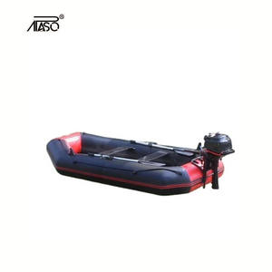 APASO (CE)3m inflatable PVC fishing boats for 6 person rowing boat B300