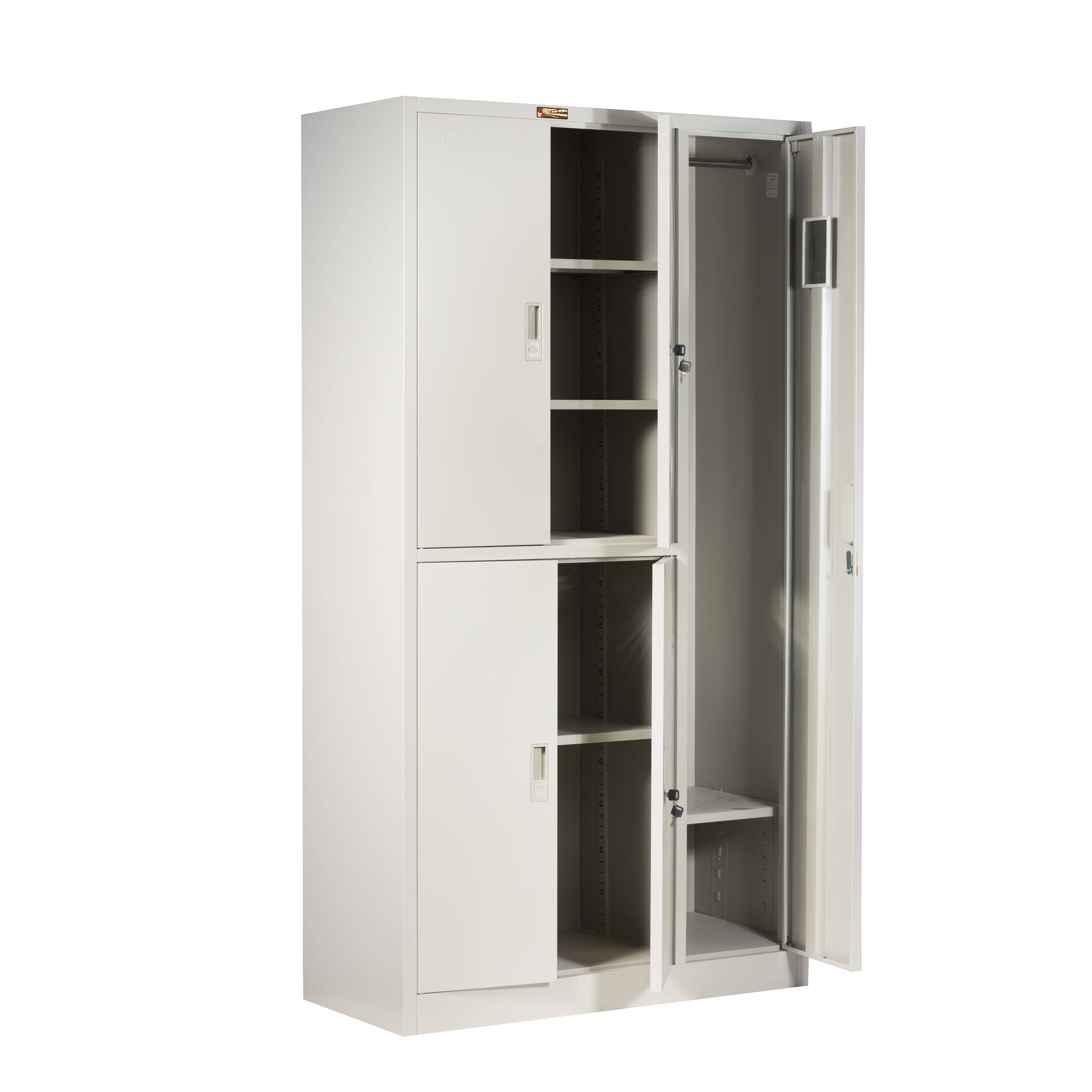 Hot sale clothing cabinets locker steel for office and home usage