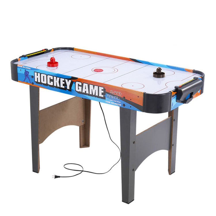 Power Pusher Machine Tabletop Toy Large Air Ice Hockey Games Table For Sale For Indoor Outdoor