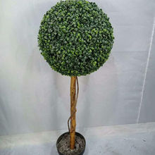 Artificial Grass-ball Tree Artificial Boxwood Ball Tree Artificial Topiary Plant