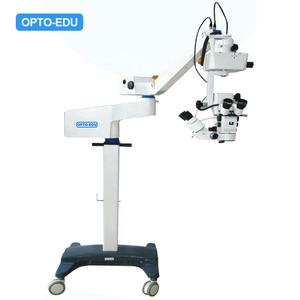 OPTO-EDU A41.3405 Hot Sale Double Binocular Electric Control Ophthalmic Operating Ent Microscope