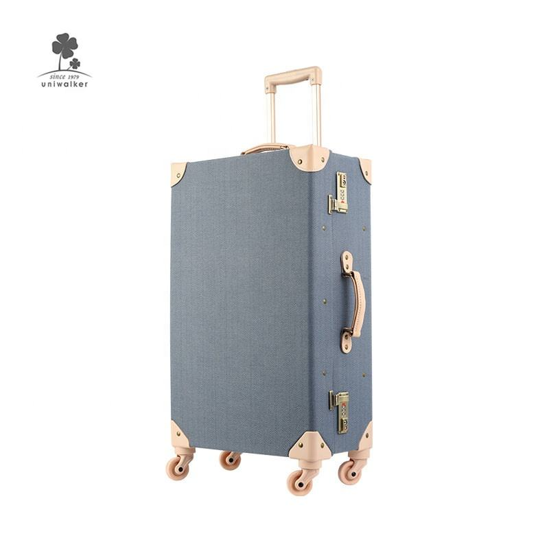 New Fashion Fancy Design Durable Al Frame Airport Anti Theft Hard Case Travel Trolley Luggage Suitcase