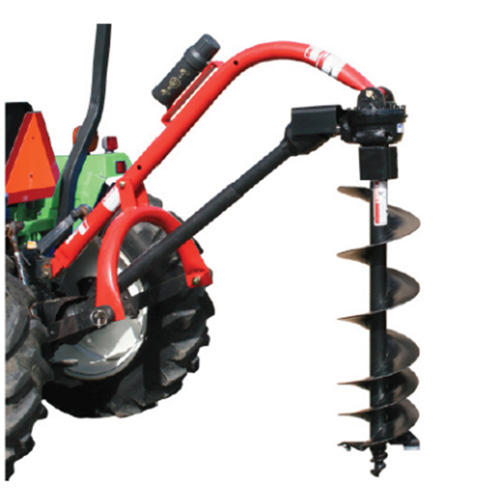 Compact Tractor Implement Tractor Mounted Small 3 point Post Hole Diggers