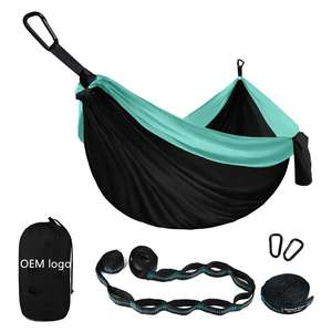 Wholesale 2 Person Outdoor Leisure Nylon Hammocks Camping Sleeping Hammock