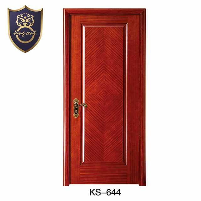 Classical model cherry wood interior decoration bedroom doors /KS-644