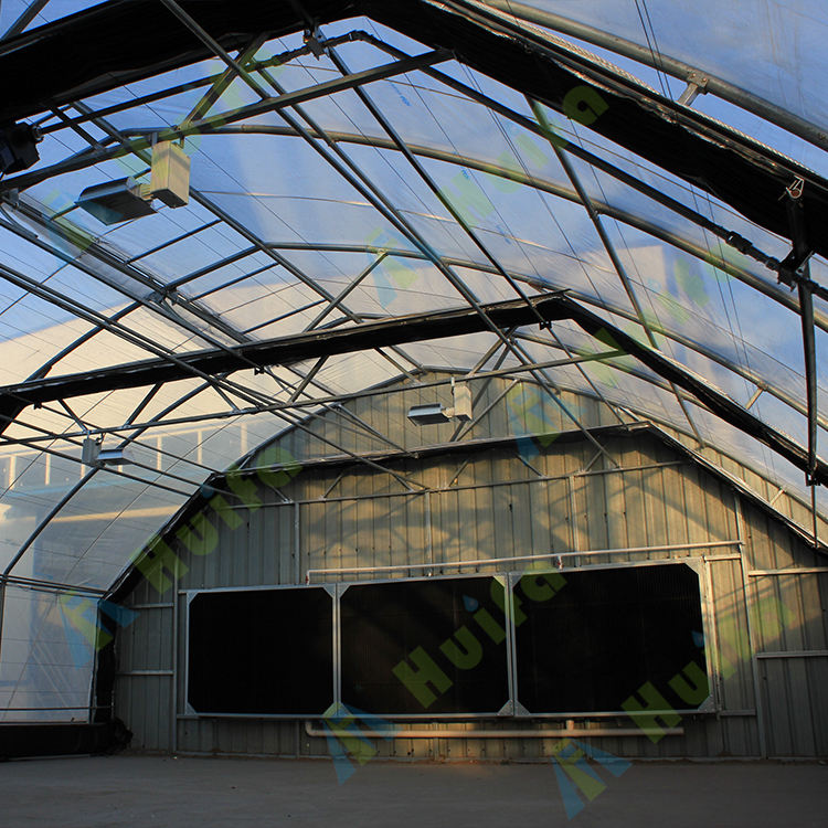 Greenhouse Manufacturing Low Cost Fully Automated Light Dep Blackout System Greenhouse
