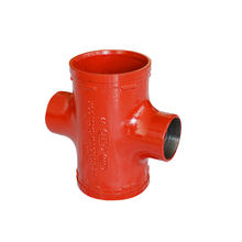 DingTai Best Sale Threaded 4 Way Fire Fighting Female Thread Pipe Fitting