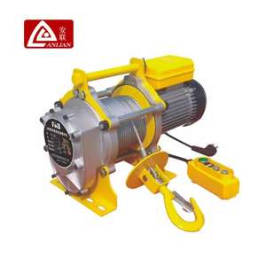 Small Size Electric Winch 380V/3 Phase Electric Wire Rope Hoist