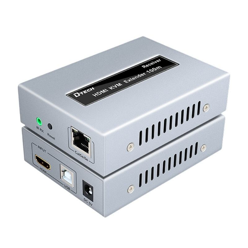 <span class=keywords><strong>HDMI</strong></span> CAT5e/<span class=keywords><strong>6</strong></span> 1920*1080 60Hz USB1.<span class=keywords><strong>1</strong></span> IR KVM Extender 100M in CCTV system