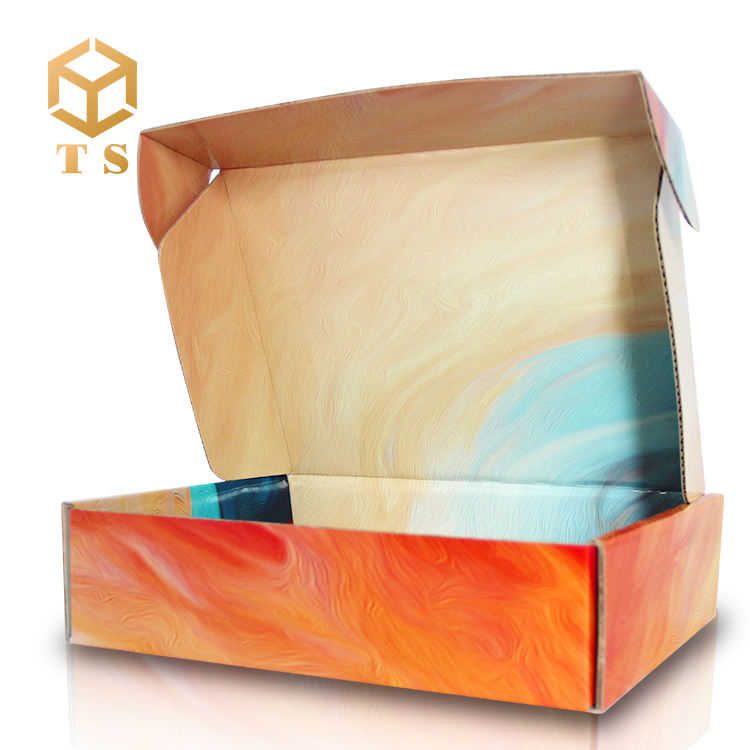 Recycle carton packaging box corrugated shipping box Custom Logo Printed Paper Corrugated Mailer Box