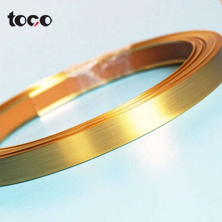 lowest price aluminum color for protective sheet mdf pvc table oem furniture metal edge banding flexible plastic trim strips