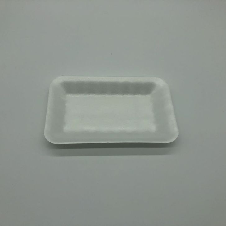 dishes set tableware Safety Food Grade Disposable 100%Biodegradable PLA Foam Tray for meat