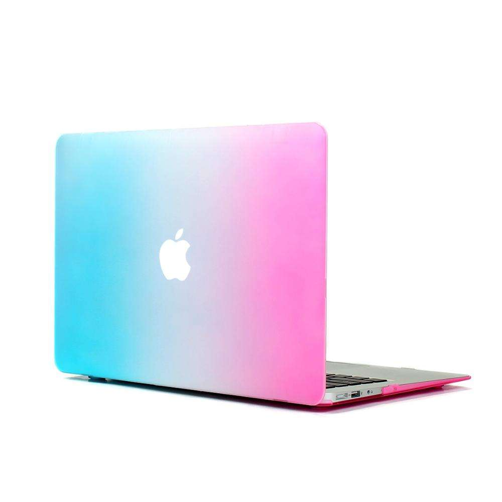 Flexible hard shell protection customized laptop body cover skin for apple macbook pro laptop hard case