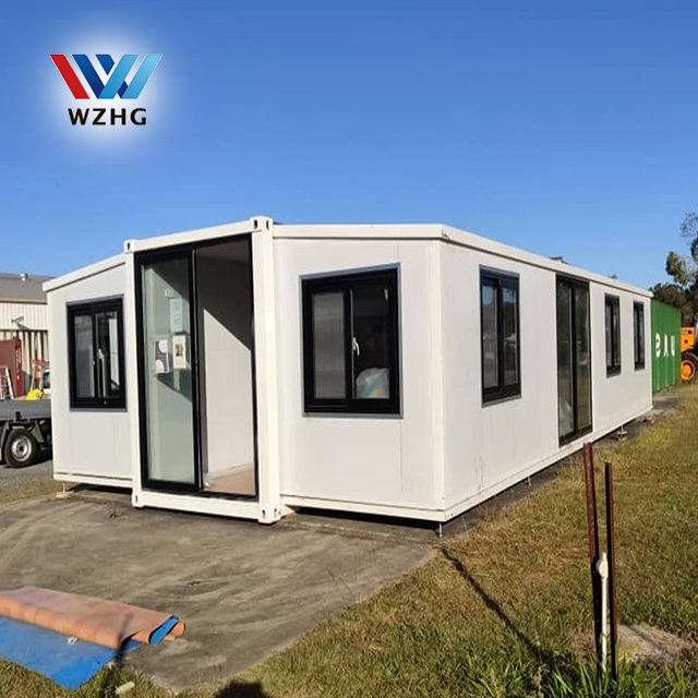 Customized container homes Prefabricated luxury Living Expandable Container House