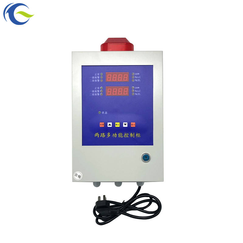 Wall mounted 4-20mA LPG H2S NH3 gas detector use gas alarm controller