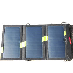 Foldable Waterproof 15W Solar Charger Cell Phone Power Bank