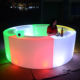 used coffee led bar counter luminous portable event rental restaurant led lighted bar counter design