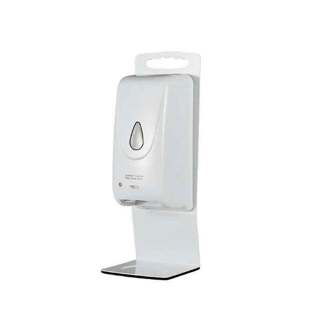 Home School Hospital Office Universal Automatic Soap Hand Sanitizer Dispenser Metal Desktop Stand