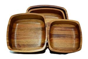 Cheap price Acacia different size for multifunction Wood Salad Bowl Food Bowl