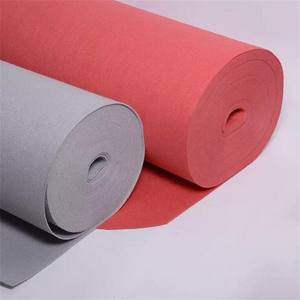 Wholesale 100% Polyester Self Adhesive Industrial Felt Fabric Roll 100% nonwoven Light and Soft Felt Fabric in Roll