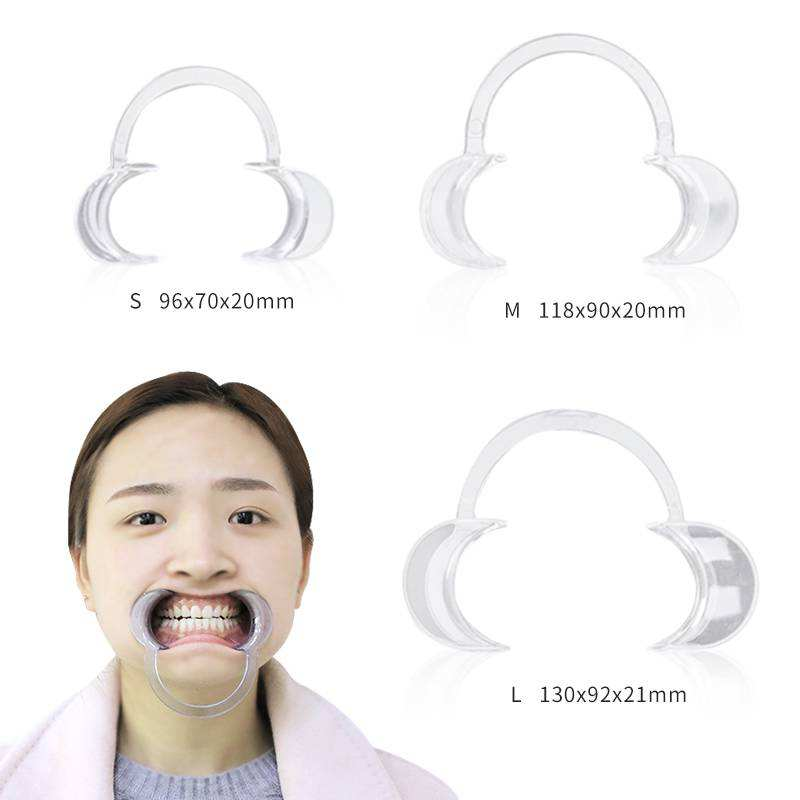 Factory price dental orthodontic plastic cheek retractor to open mouth